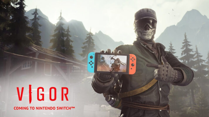 The looter shooter Vigor is coming to the Switch