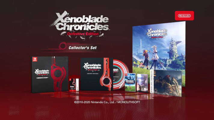 Xenoblade Chronicles Definitive Edition launches on May 29 with an amazing collector's edition