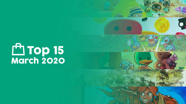 Top 15 Switch eShop Downloads for Australia & New Zealand for March 2020