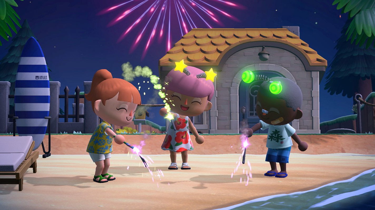 Animal Crossing New Horizons gets Island Backup Dreaming and fireworks later this week – Vooks