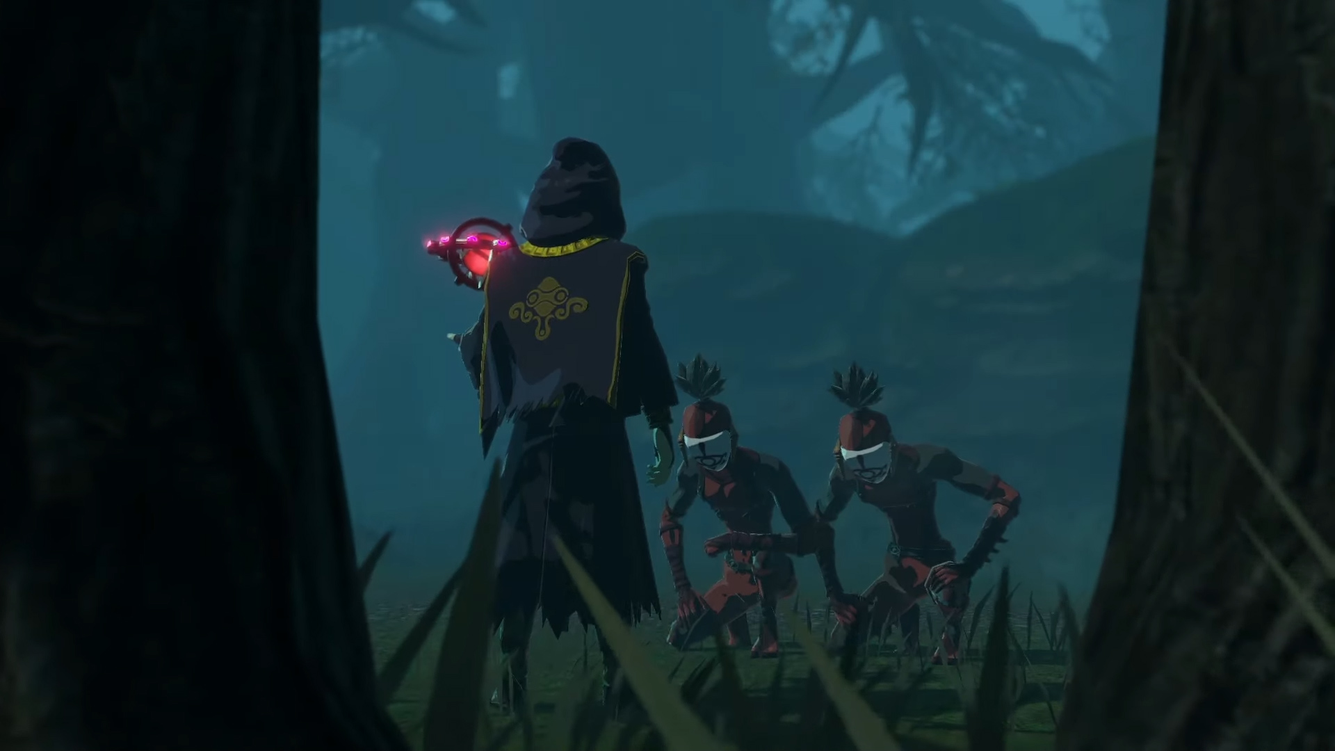 New Hyrule Warrior Age Of Calamity Trailer Shows The Yiga Clan And New Ominous Figure Vooks